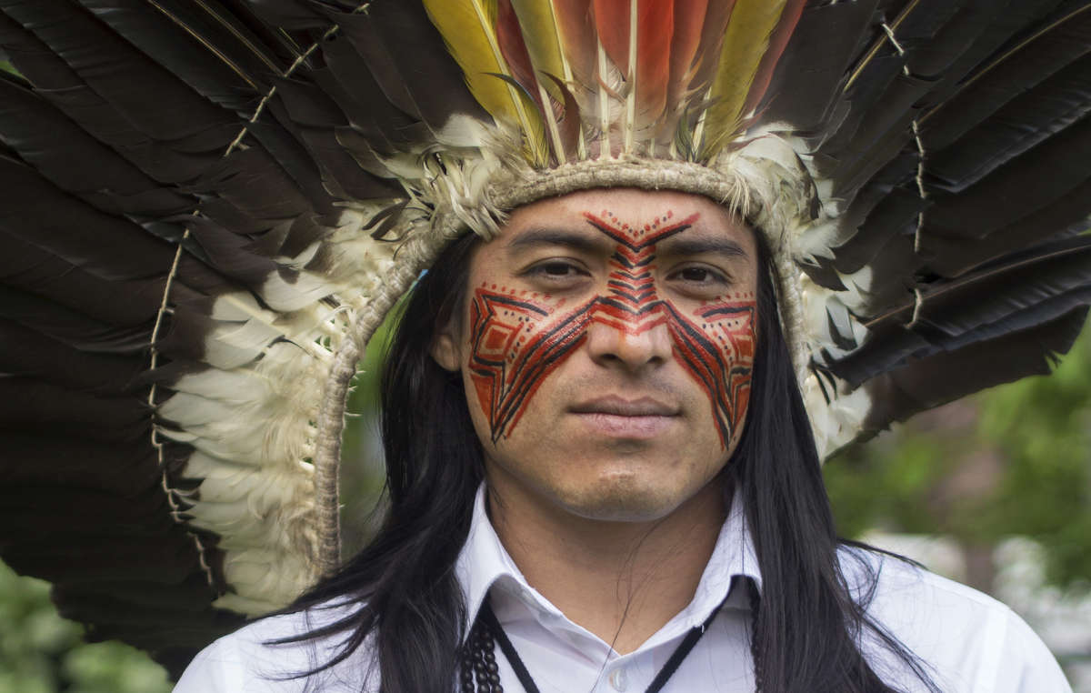 Nixiwaka, from the Yawanawá tribe